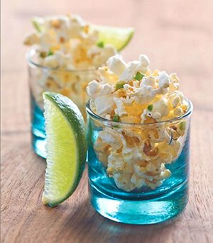 Festive Food: Chile-Lime Tequila Popcorn - Mamiverse For more great ...