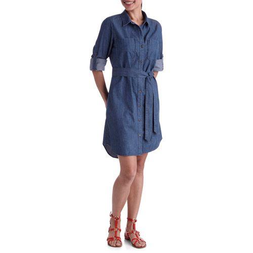 Perfect Lara Denim Shirt Dress | Boohoo
