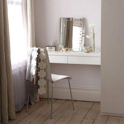 Simple dressing table  Penteadeira  Pinterest