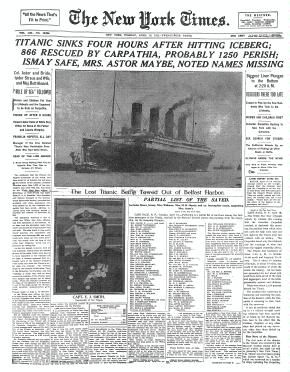Times Machine is a wonderful database of New York Times articles that allows students to access exact digital copies of the famous newspaper dating back to 1851. With articles about everything from the sinking of the Titanic to death of President Lincoln. What a great way to integrate reading into your social studies lessons!