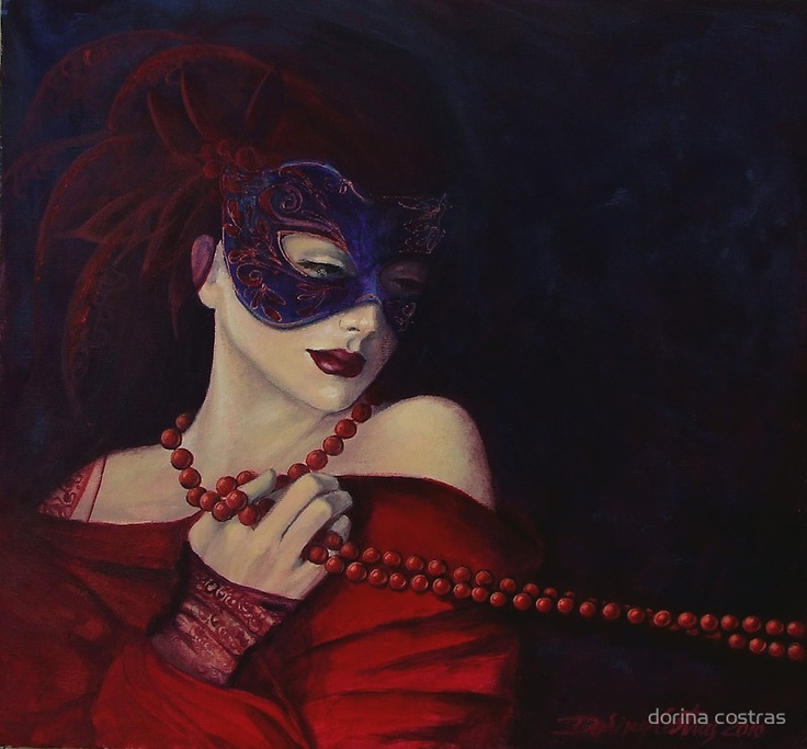 By the artist ~ Dorina Costras.