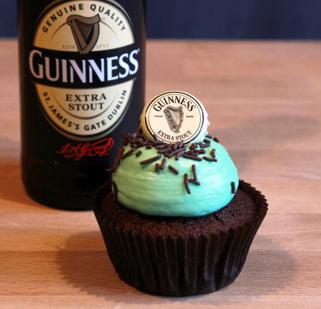 Guinness Cupcakes | Backen | Pinterest