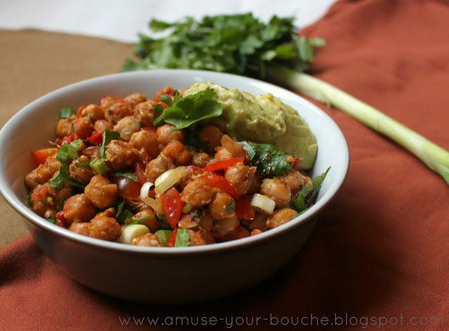 Roasted Chickpea Fajitas Recipes — Dishmaps
