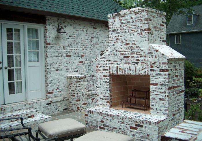 exterior brick chimney stuff for the new house pinterest