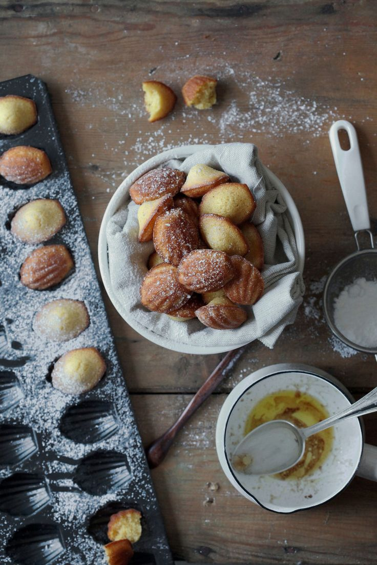 Vanilla Browned Butter Madeleines | natalie eng | patisserie • food ...