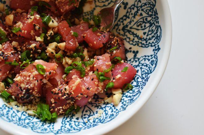 tuna poke | Food | Pinterest