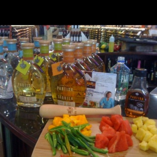 Tequila Partida - Margarita bar by yours truly. I shake it for a livin ...