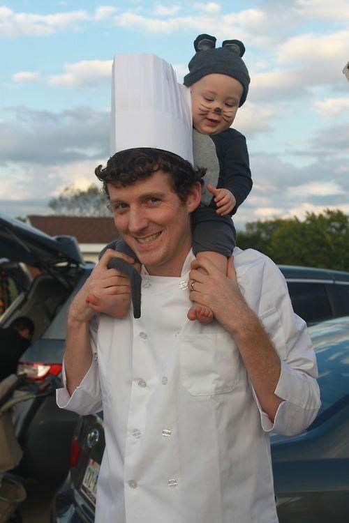 ratatouille dad & kid costume | Kiddos :) | Pinterest