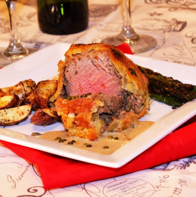 Beef Wellington... the ultimate decadent dinner for a special occasion ...