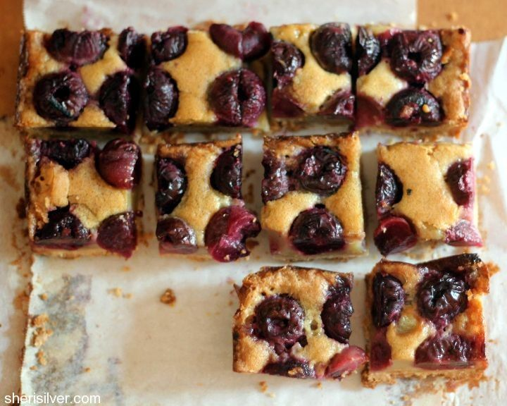 Hazelnut And Cherry Brown Butter Bar Recipes — Dishmaps