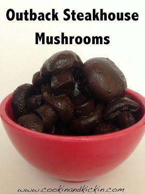 Burgundy Mushrooms Outback Steakhouse Mushrooms