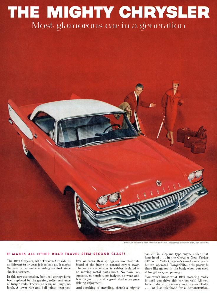 1957 chrysler windsor classic mopar ads pinterest for 1957 chrysler windsor 2 door hardtop