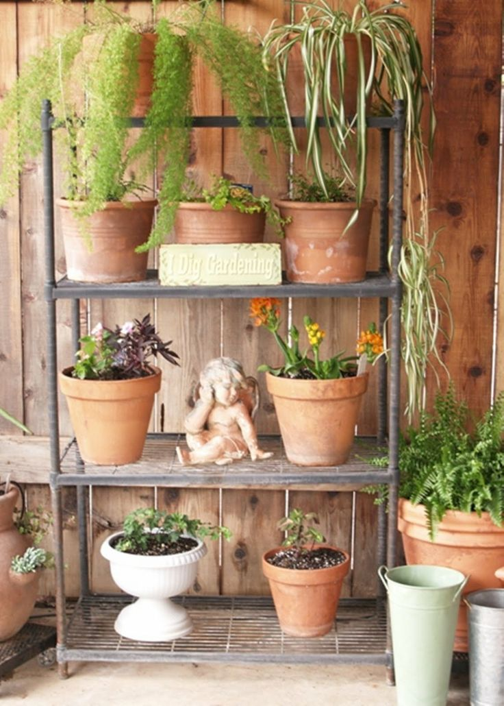 Outdoor Plant Stand For The Home Pinterest