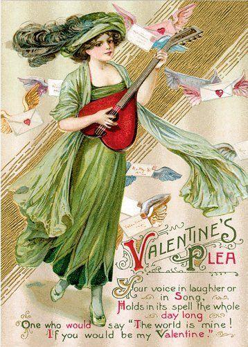 first known valentine's day card sent