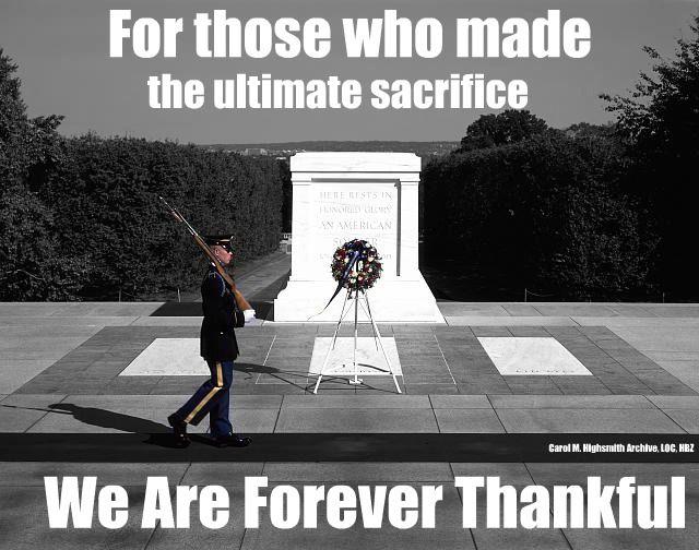 memorial day dedication quotes