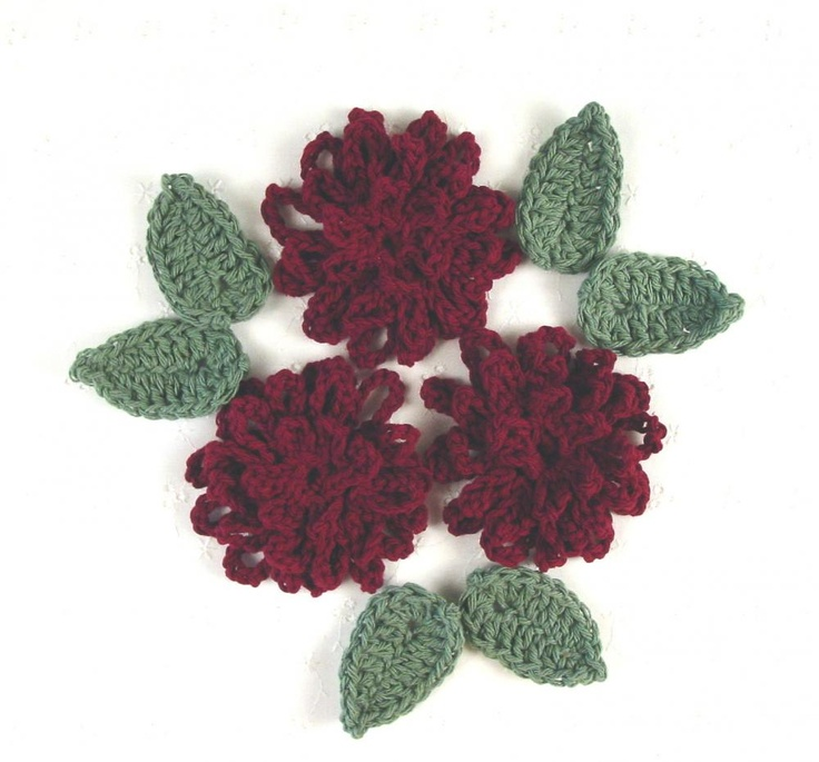 Crochet Zinnia Flower Pattern : Pin by Margaret Reynolds Spanier on Flowers to Make ...