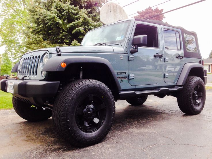 Show Us Of Your Wheels And Tires Page 4 Jeep Wrangler