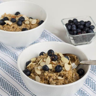 Overnight Steel-Cut Oats With Almond Butter & Honey Recipes ...