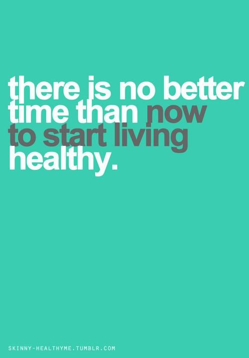 STOP yoyo-ing with healthy eating/working out- and going back to making bad choices! Find a lifestyle that works and stick with it.