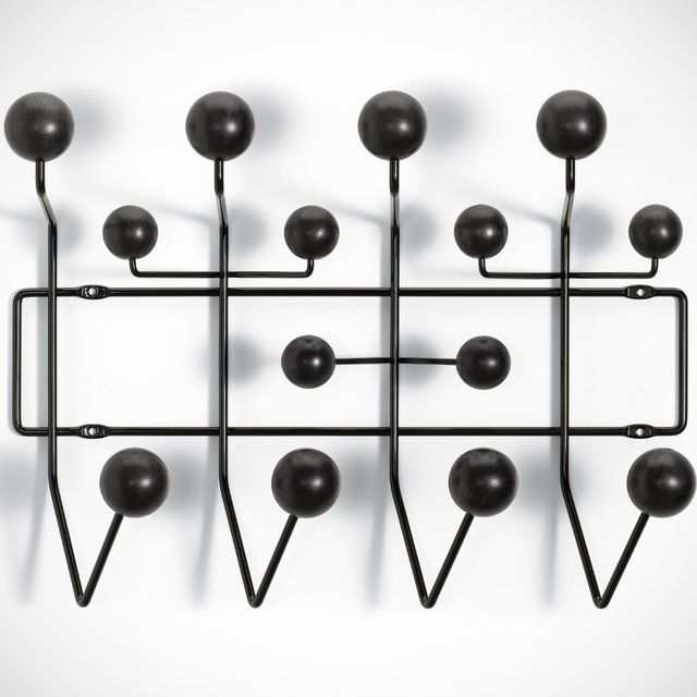 eames hang it all black coat rack contemporary design. Black Bedroom Furniture Sets. Home Design Ideas