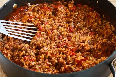 Kalyn's Kitchen: Recipe for Deconstructed Stuffed Cabbage Casserole