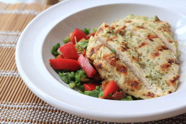 Yogurt-Marinated Grilled Chicken | Recipe