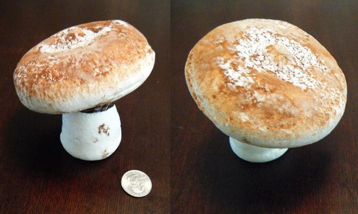 Meringue mushroom | Leah's Wedding | Pinterest