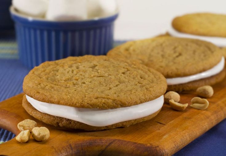 Fluffernutter Cookies - Who remembers fluffernutter sandwiches from ...