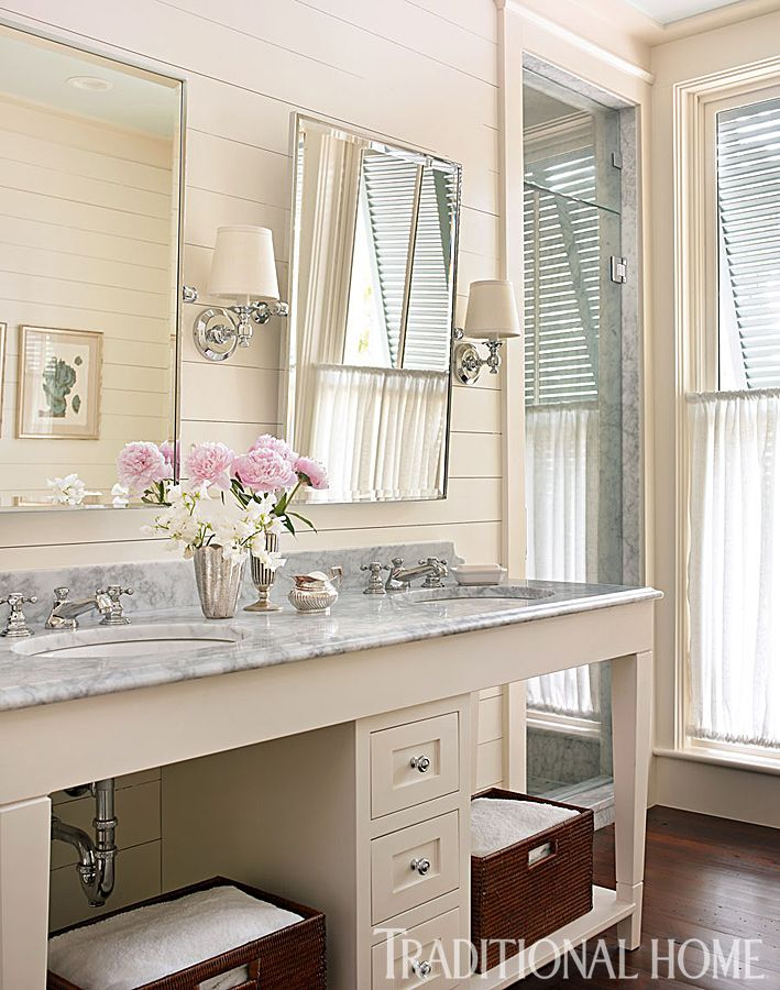 option for bath mirrors and sconces