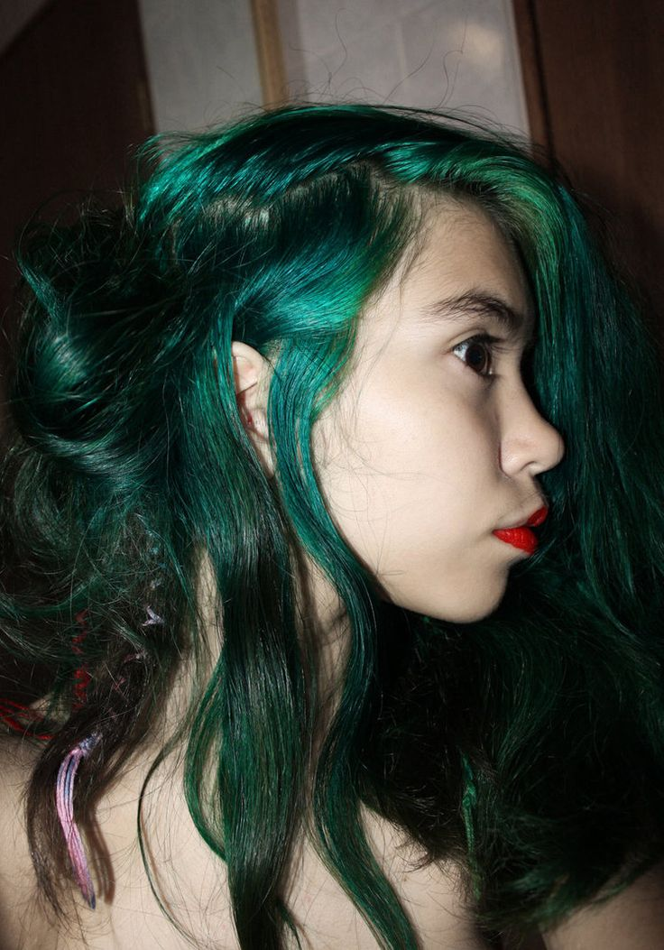 Emerald Hair Till I Die Seriously Hair Pinterest