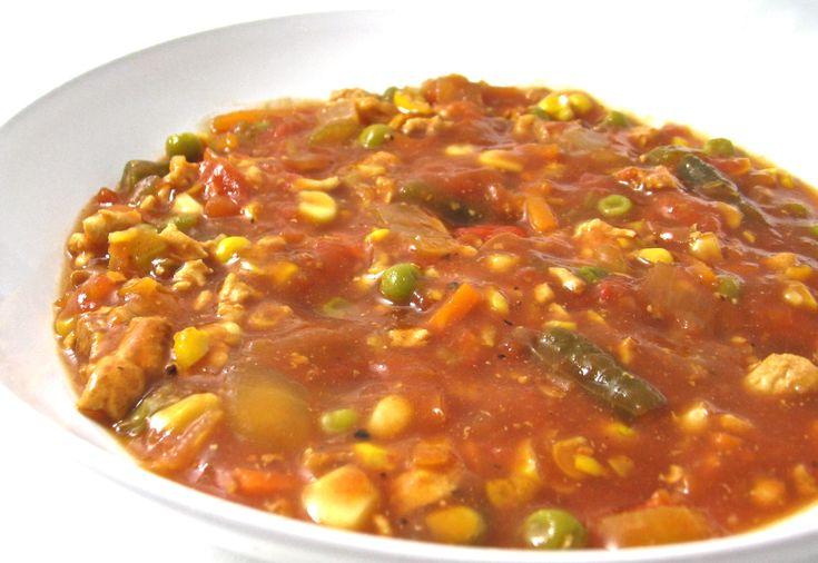 Diet-friendly crock pot Brunswick Stew   Diet Friendly Recipes   Pint ...