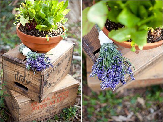 herb wedding ideas