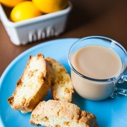 Meyer Lemon and White Chocolate Biscotti | the little kitchen