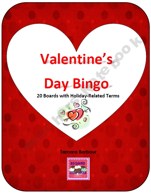 valentine's day bingo with pictures