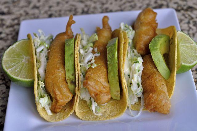 Fried Fish Taco...