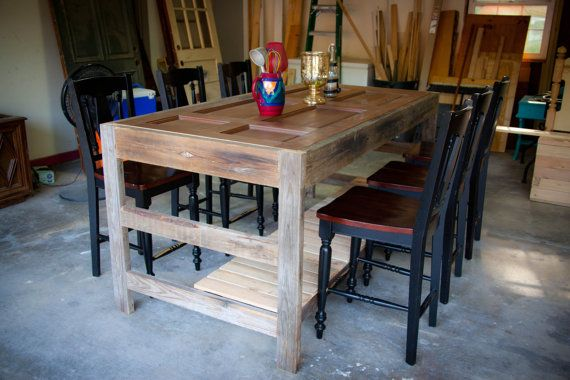 Large table kitchen island potting table by elegantlydistressed 675