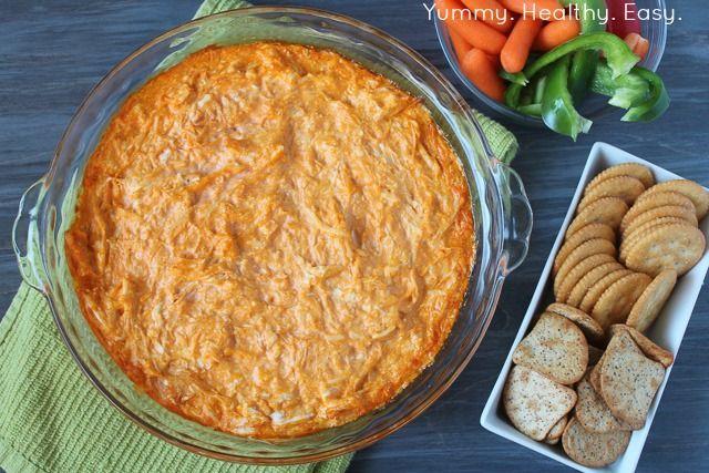 Yummy. Healthy. Easy.: Creamy Buffalo Chicken Dip