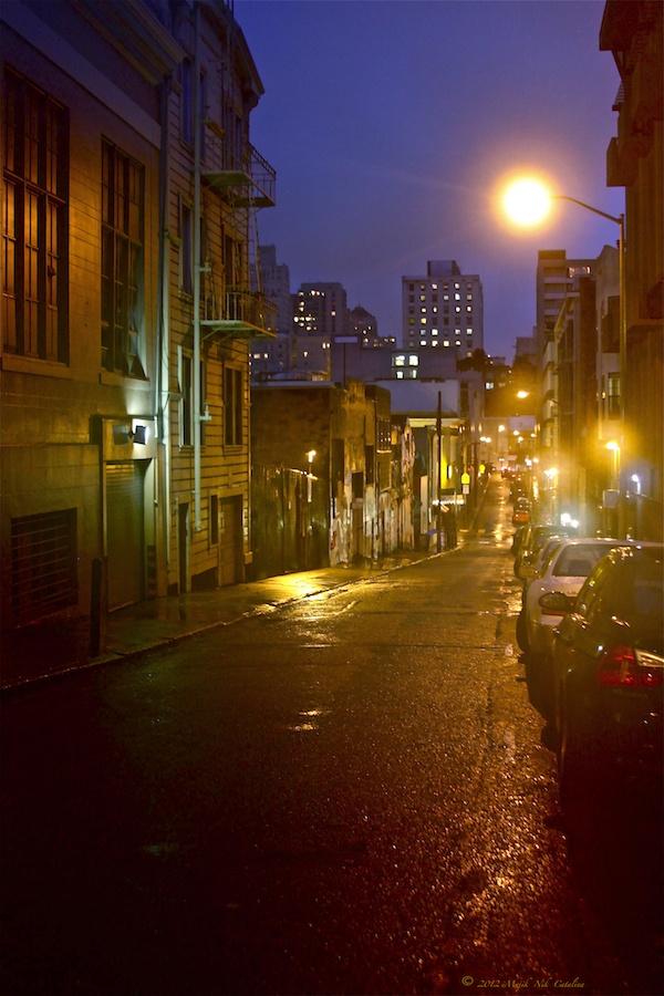 City Street Rainy Night | Rainy City Streets | Pinterest