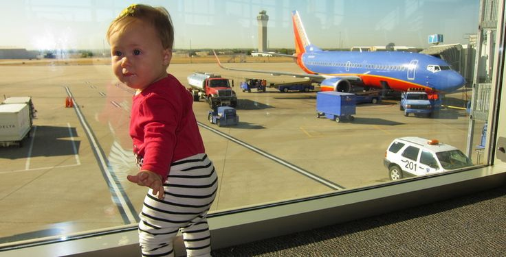 travel flying with baby