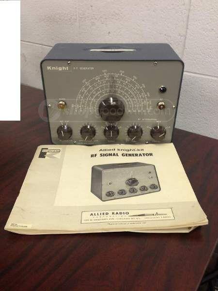 Knight Rf Generator Schematics : Knight rf signal generator manual