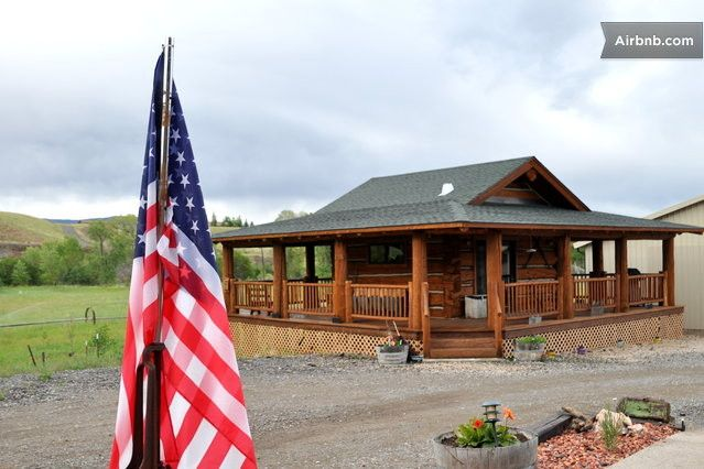 Log cabin with wrap around porch car interior design for Log cabin homes with wrap around porch