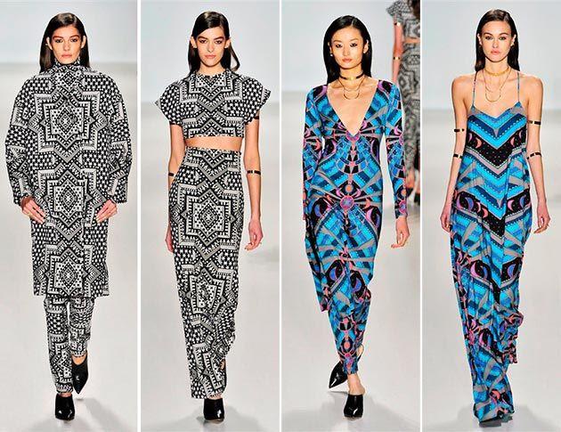 Carolina Herrera FallWinter 2014-2015 Collection – New York Fashion Week