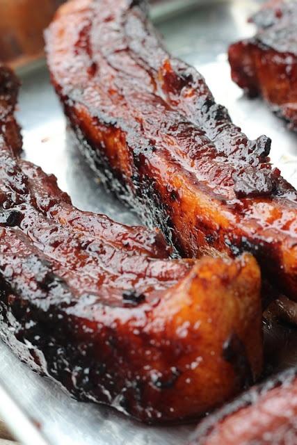 Singapore Street Food - Roasted Pork or Char Siew