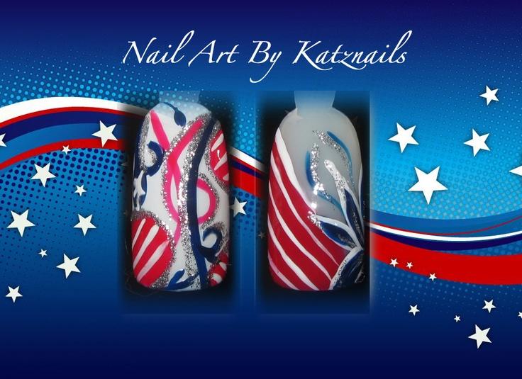 Red White & Blue Nail Art Alternatives | ~ Nails ~ Makeup ~ Hair