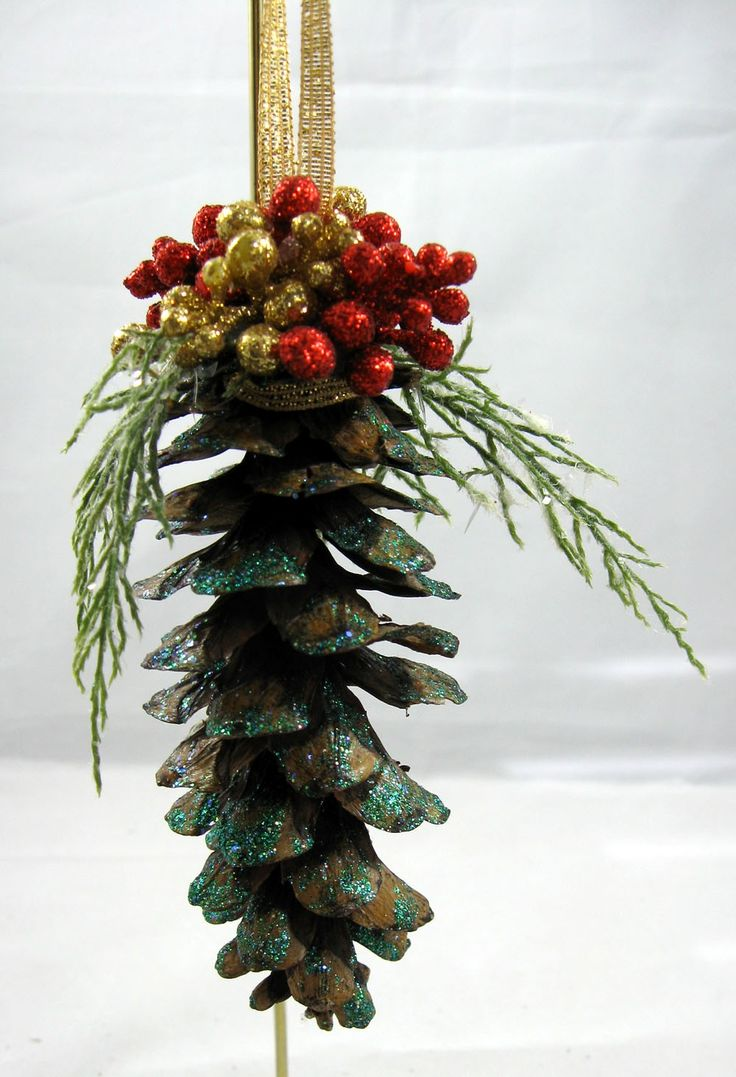 Pine Cone Christmas Ornament 102
