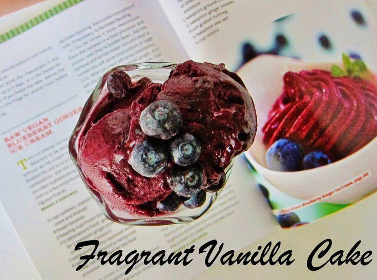 Blueberry Ginger Sorbet Recipe — Dishmaps