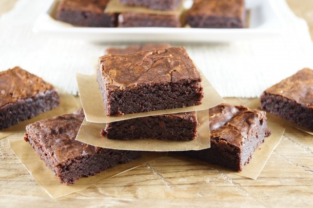 Fudgy One-Pot Brownies from The Mom 100 Cookbook / Patty Price / Patty ...