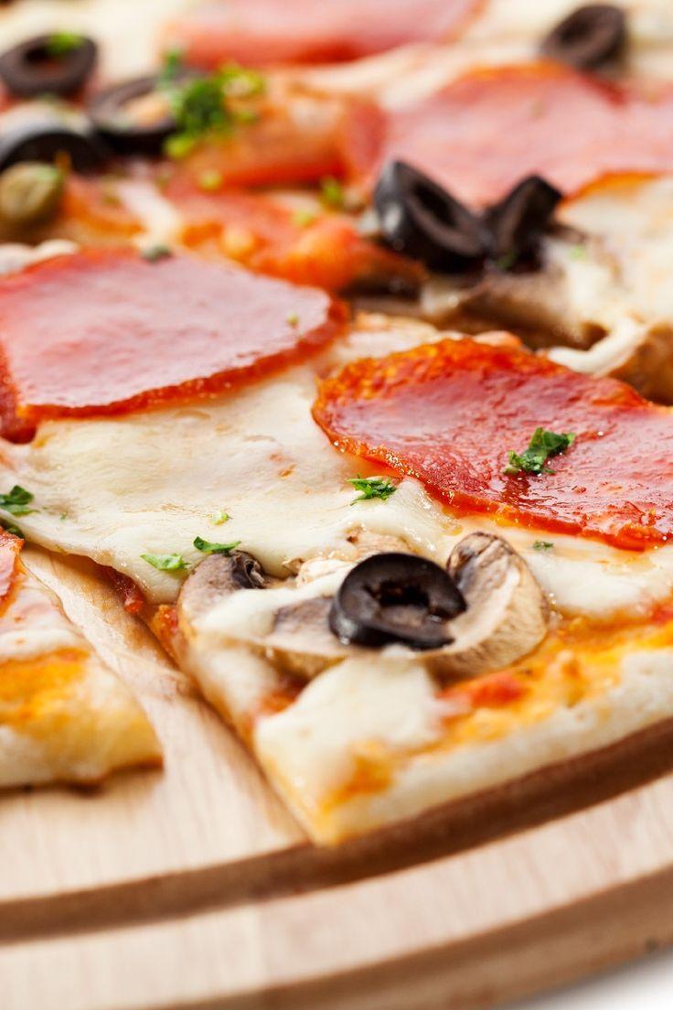 Pizza Dough for Thin Crust Pizza Recipe | makeup | Pinterest