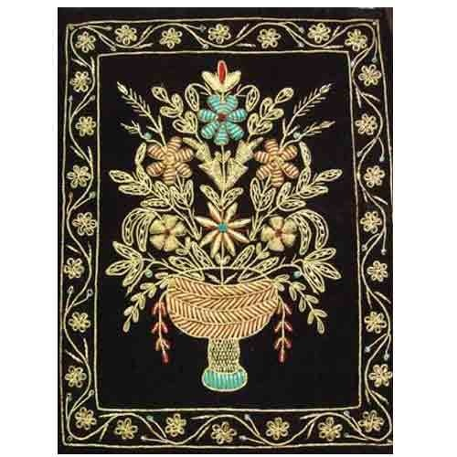 embroidered wall hangings home interior pinterest