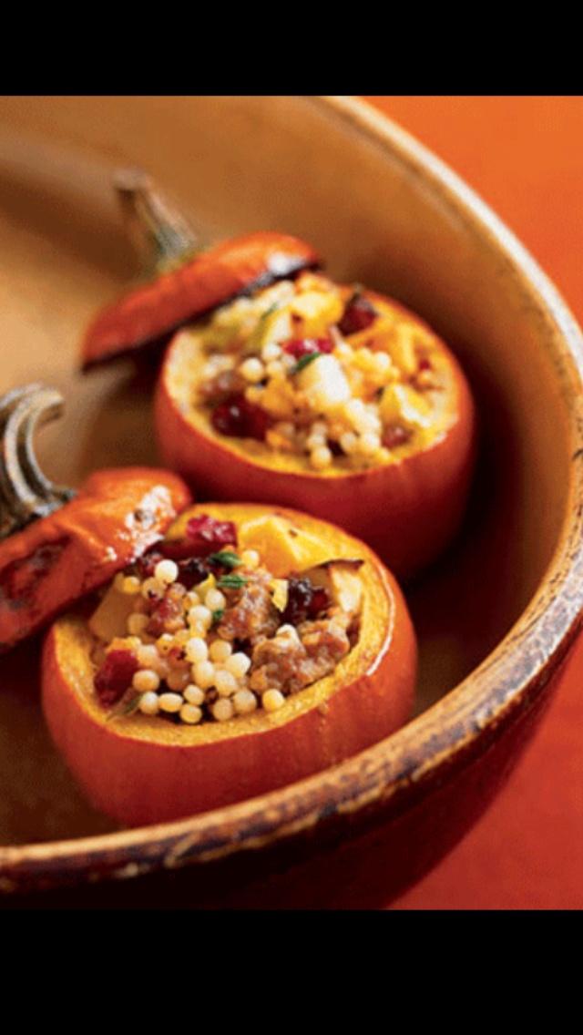 Stuffed pumpkin   Food/Recipes   Pinterest